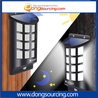 Solar Led Human Body Induced Wall Garden Lighting for Outdoor