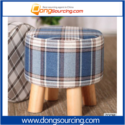 custom wooden children cloth art sofa stool