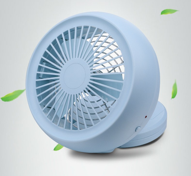Blue color of USB Fan