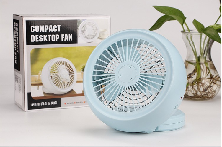 Light blue color of USB Fan