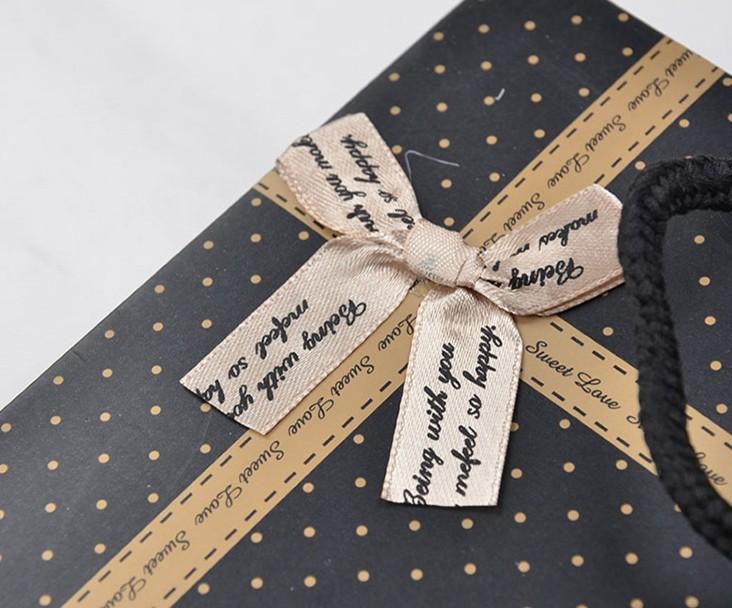 Detail of paper bag