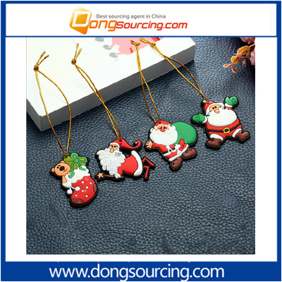 Cartoon Christmas Ornaments Santa Claus Ornament