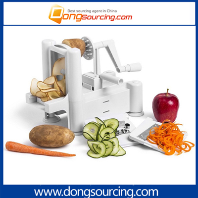 Hand Push Type Vegetable Slicer Spiral
