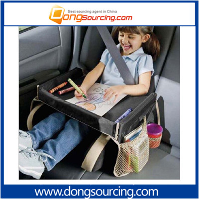 2017 New Style Car Kids Drawing Plate Kids Travel Play Snack Tray