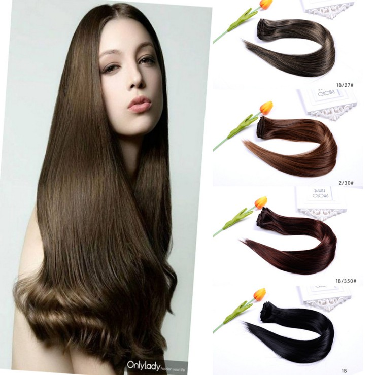 High Quality 100% Silky Human Hair
