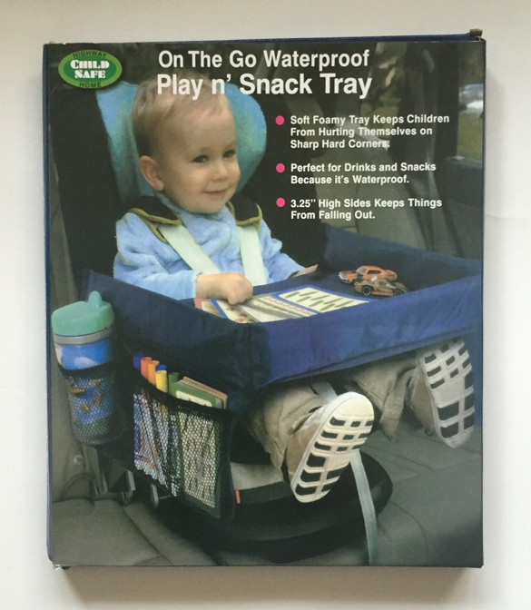 Packaging of Kids Travel Plate